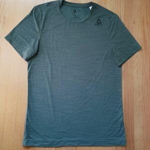 Green Reebok sport shirt